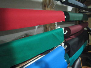 Kankakee pool table recovering table cloth colors